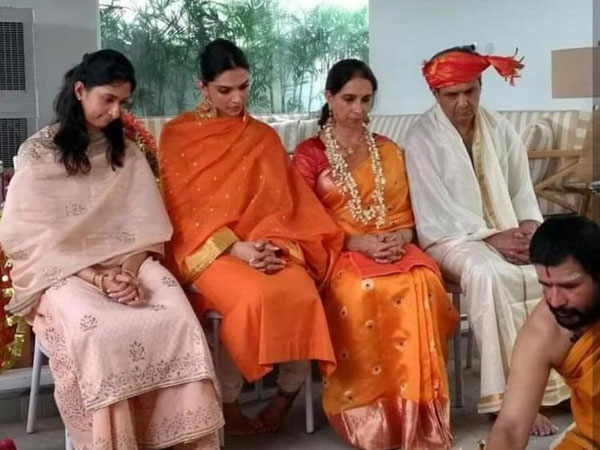 Ranveer Deepika Wedding This Unseen Pic Of The Bride From Nandi Puja Is All Things Love