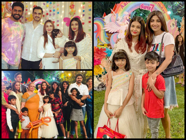 Inside Pictures & Videos! Aishwarya Rai & Abhishek Play MUSICAL CHAIRS At Aaradhya's Birthday Party