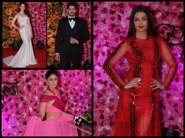 Lux Golden Rose Awards: Aishwarya Rai Bachchan Looks Like A BOMBSHELL; Alia-Sidharth Under One Roof