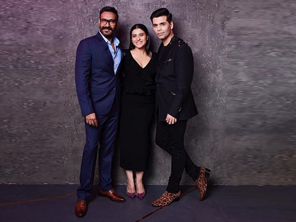 After 2 Years Of Public Fallout With Karan Johar, Kajol & Ajay Devgn Appear On Koffee With Karan 6!