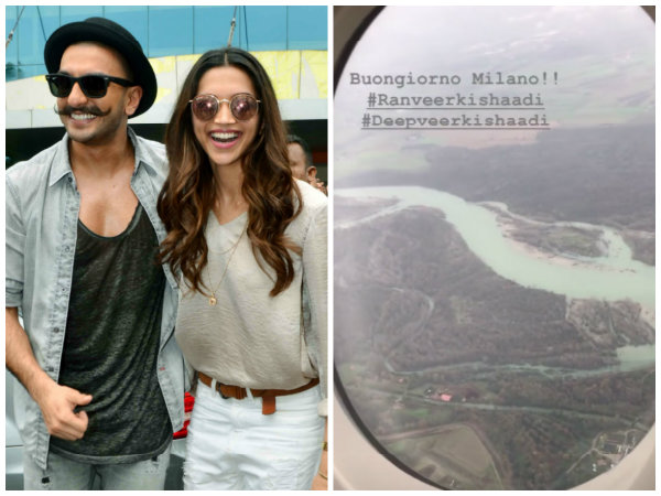 Ranveer Singh's Hairstylist Shares A Clip Of Buongiorno Milano From The Aeroplane