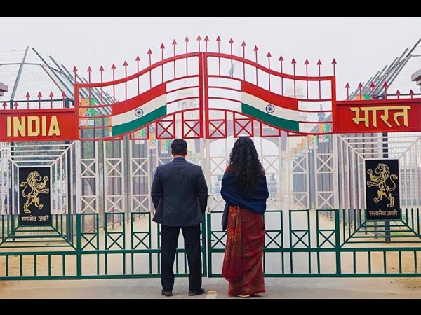 Bharat First Look: Salman Khan & Katrina Kaif  Are Standing At Wagah Border & Making Us Curious!