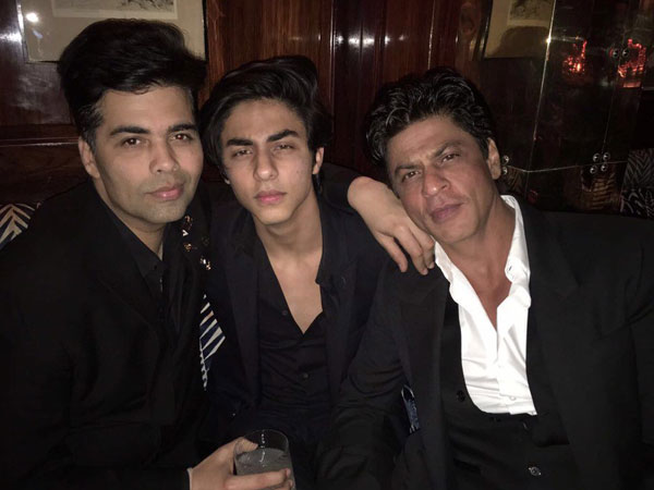 Shahrukh Khan's Son Aryan Is 'My Baby Boy' Says Karan Johar While Wishing Him On His 21st Birthday