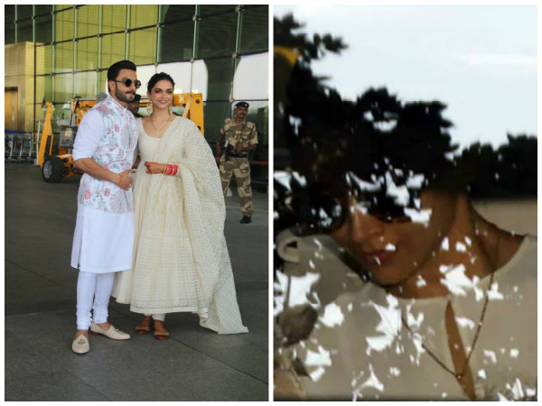 Newly Married Couple Ranveer & Deepika Step Out, But It's Her Mangalsutra That Got All The Attention