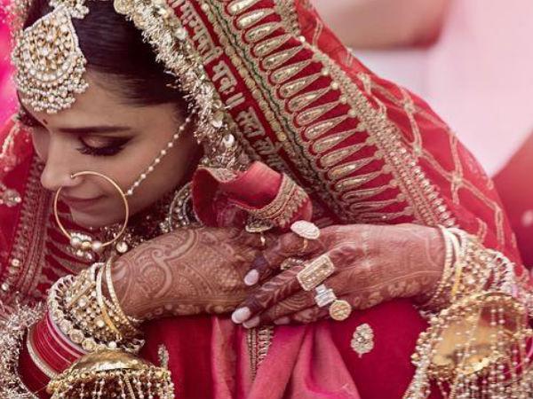 The Cost Of Deepika Padukone's Sindhi Wedding Lehenga Will ...