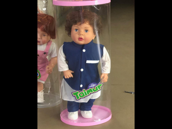 Unbelievable! We Have A Taimur Ali Khan Doll In The Market Now & It Looks Exactly Like Kareena's Son