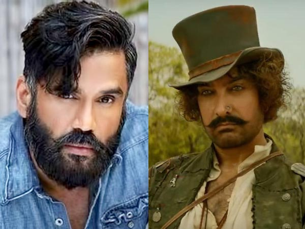 Suniel Shetty Slams Critics For Giving Negative Reviews To Aamir Khan's Thugs Of Hindostan