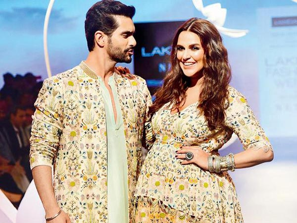 Good News! Neha Dhupia & Angad Bedi Blessed With A Baby Girl