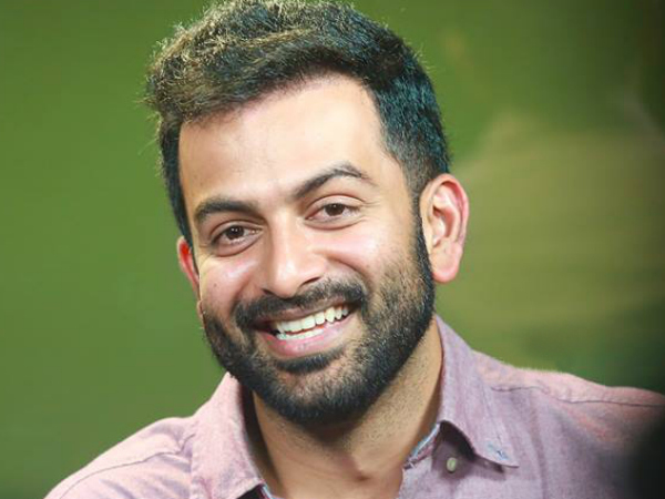 Prithviraj Confirms His Upcoming Movie With This Young Film Maker