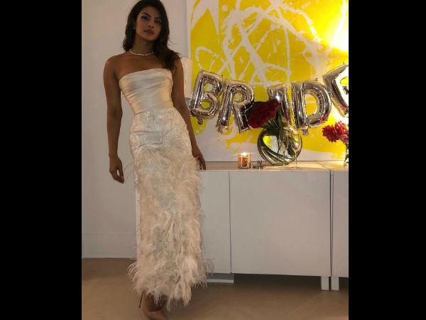 Priyanka Chopra Trolled For Wearing A Gown Designed By Harvey Weinstein's Estranged Wife Georgina