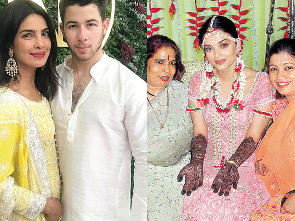 What's Common Between Priyanka & Aishwarya Rai Bachchan's Mehendi Ceremony?