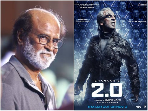 Rajinikanth Says That Akshay Kumar Is The Hero As Well As The Villain Of 2.0!
