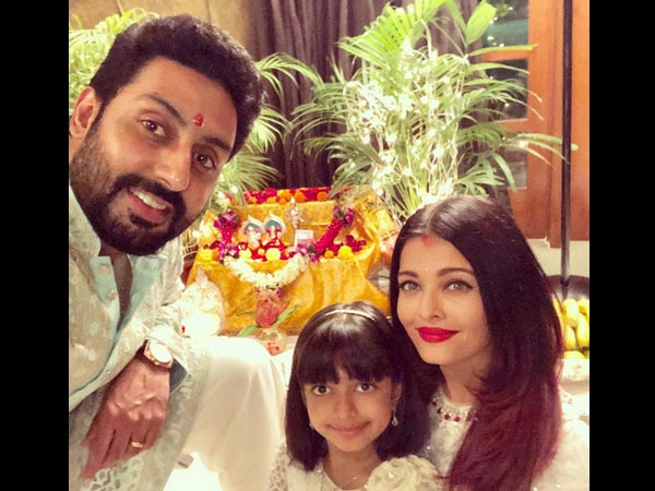 Aishwarya With Abhishek