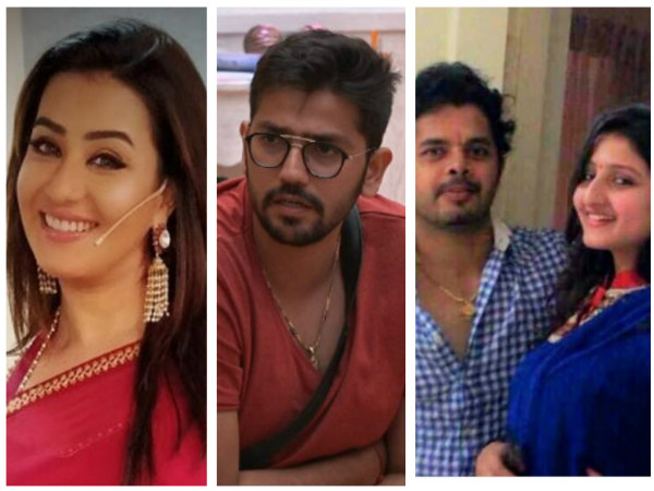 BB 12: Shilpa Shinde Takes A Dig At Karanvir's Wife; Sreesanth's Wife Lashes Out At Romil's Fans!