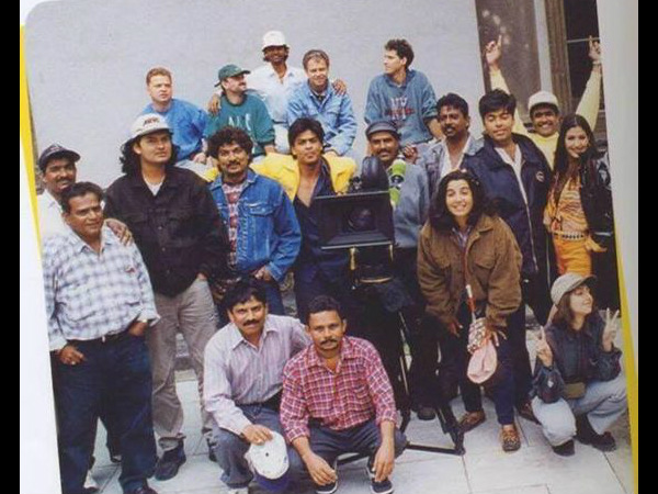 Shahrukh Khan On The Sets Of Duplicate