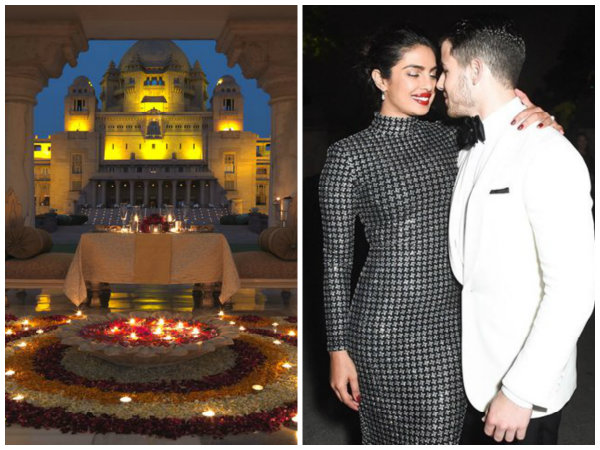Inside Pictures Of Priyanka Chopra & Nick Jonas' Wedding Venue Is As Royal As It Can Get!