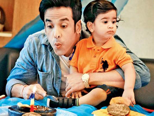 Happy Birthday Tusshar Kapoor: Here Are 4 Adorable Pictures Of Him With His Kid Laksshya!