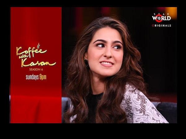 ce245f11bc7 Koffee With Karan 6  Sara Khan Says She Wants To Marry Ranbir Kapoor ...