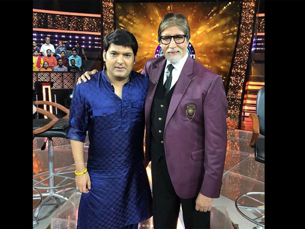 Amitabh Is Emotional About Wrapping Up KBC 10; What Kapil Sharma Did Brought Tears To Big B's Eyes!
