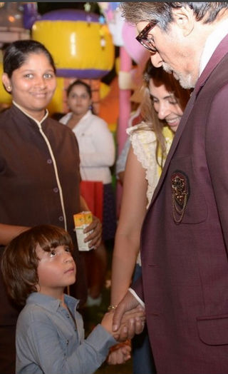 AbRam Gets FURIOUS At Aaradhya's Birthday Party!