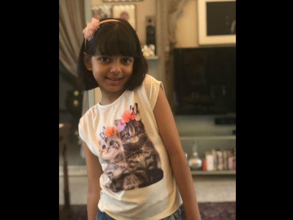 Amitabh Bachchan Blesses Aaradhya On Her Birthday, Posts Pics
