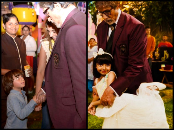 Shahrukh Khan's Son AbRam Gets FURIOUS At Aaradhya's Birthday Bash; SCREAMS 'No Pictures'