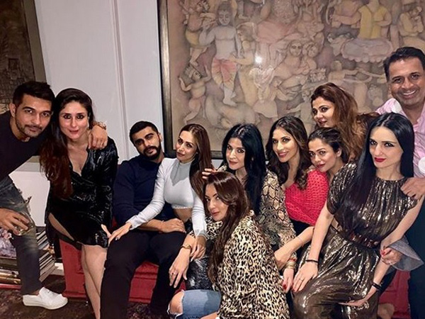 Arjun Kapoor & Rumoured GF Malaika Arora Party Together & Their Cosy Picture Speak Volumes!