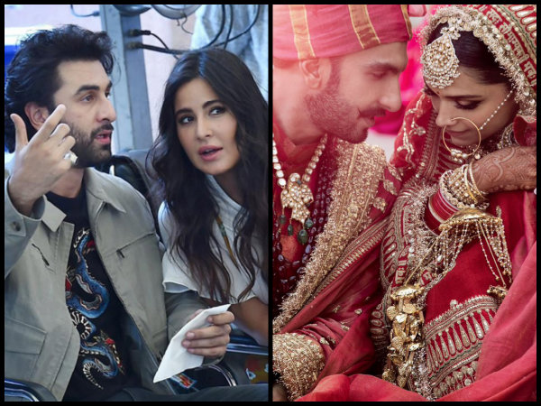 Deepika Padukone INVITES Katrina Kaif & Ranbir Kapoor To Her Wedding Reception Owing To THIS Reason!