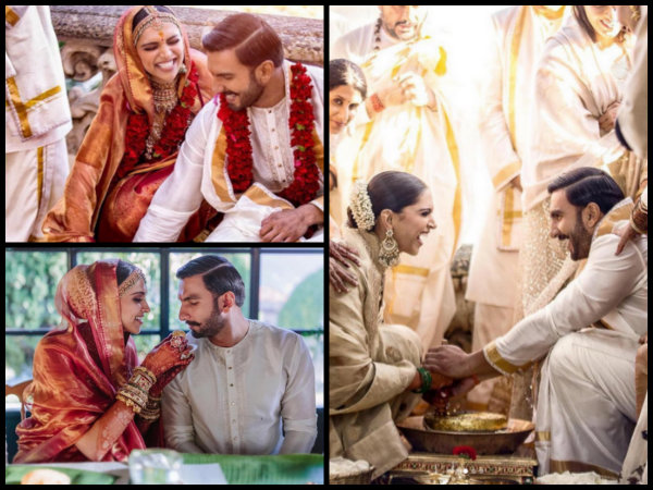 NEW INSIDE WEDDING PICS OUT! Deepika Padukone & Ranveer Singh DANCE, LAUGH & PERFORM RITUALS!