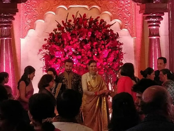 #DeepVeerKiShaadi: Couple host first wedding reception in Bengaluru