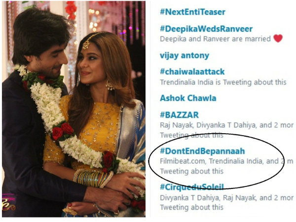 Bepannaah: Upset Fans Demand Makers & Channel Not To End The Show; Trend #DontEndBepannaah!