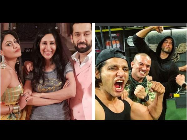 Nakuul Mehta & Kushal Tandon Support Karanvir; Teejay Spends Quality Time With Ishqbaaz's Shivika!