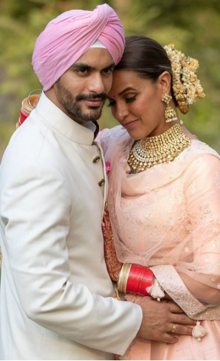Neha Dhupia & Angad Bedi Blessed With Baby Girl!