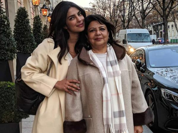 Priyanka & Mommy Madhu Chopra Chill In Paris Ahead Of The Wedding, View Pictures