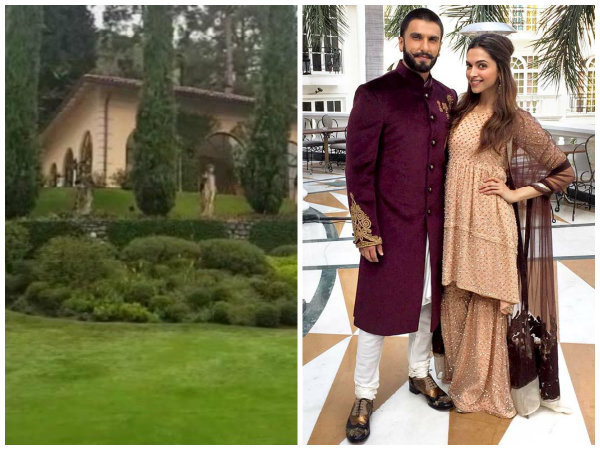 Deepika Padukone & Ranveer Singh Wedding: It's Drizzling At The Lake Como; Venue Looks Like A Dream