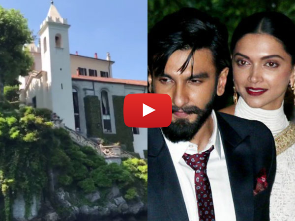 Deepika Padukone & Ranveer Singh Wedding: This Video From Lake Como Is Breathtaking