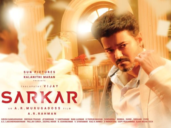 Sarkar Review: Vijay-AR Murugadoss Team Delivers A Solid Film!