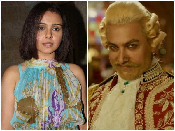 Suchitra Krishnamoorthi Trolls Aamir Khan's Thugs Of Hindostan; Posts A Pic Watching The Movie Alone