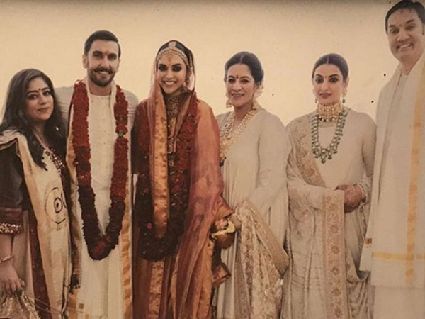 Deepika Padukone Holds Her Mother-in-law's Hands In This Latest Wedding Picture!