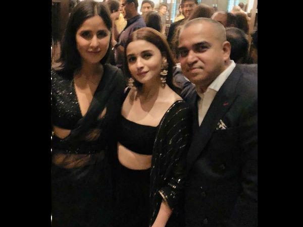 INSIDE Pics From Shahrukh Khan's Diwali Bash: Alia Bhatt AVOIDS Sidharth; Poses With Katrina Kaif
