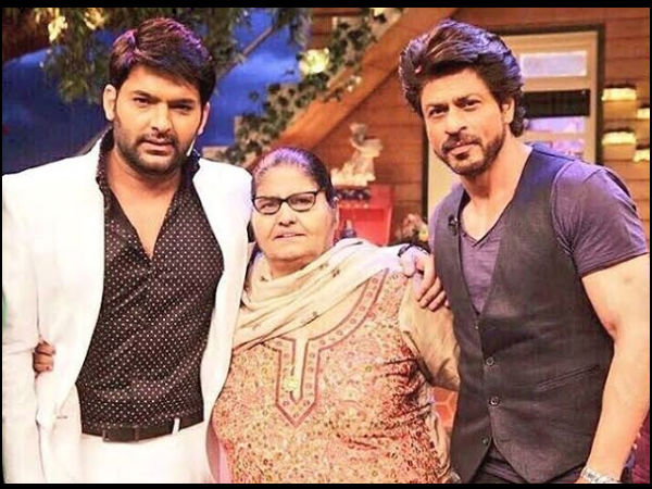 Kapil's Adorable Wishes For Shahrukh