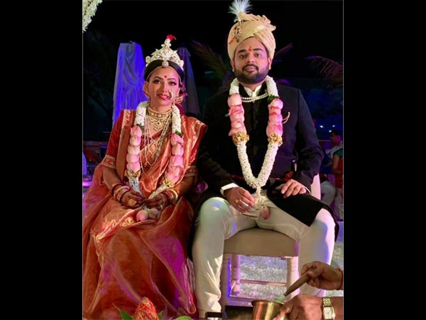 Shweta Basu-Rohit Mittal's Wedding: FIRST Picture Revealed! Couple Delighted To Start A New Journey!