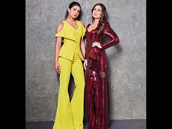Kareena Kapoor & Priyanka Chopra Bury Differences & Come Together For Koffee With Karan 6 Finale!