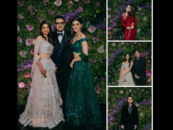 Pictures! Janhvi, Sara, Kriti, Karan Attend Dinesh Vijan's Classy Cocktail Party