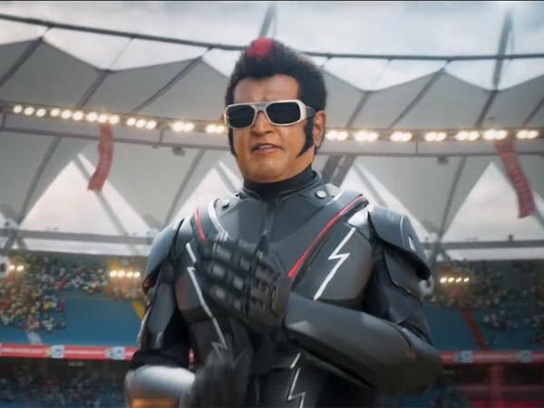 2 0 Box Office Collections Week 1 Rajinikanth S Film Rules Collects 500 Crores