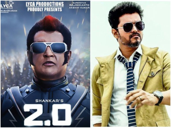 2 0 Box Office Collections Kerala Overtakes Sarkar Become The To Grossing Tamil Movie 2018