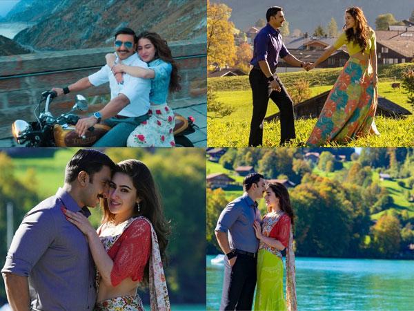 Simmba Song Tere Bin Ranveer Singh Sara Ali Khan Breezy Romance Brings Back The Love Season