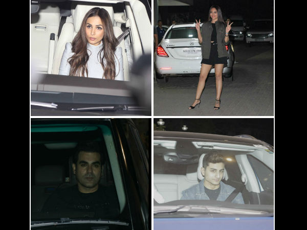 Sohail Khan Hosts Birthday Bash For Son Nirvan; Celebs Arbaaz, Malaika, Sonakshi & Others Attend