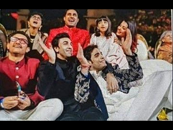 Not Katrina Or Deepika, Ranbir Kapoor CHILLED With Aishwarya Rai Bachchan At Ambani's Grand Wedding!