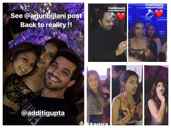 Additi Gupta Cocktail Party: Drashti Dhami, Arjun Bijlani, Kritika Kamra & Others Have Crazy Fun